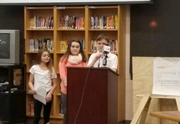 Horace Mann Heroes Present at Board Meeting