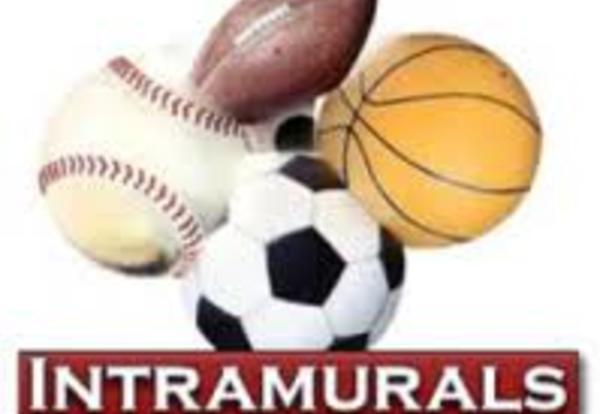 Intramural Schedule Announced