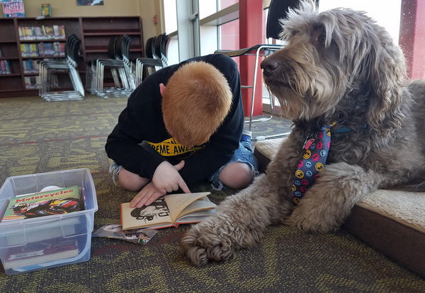 180 Days - Reading to a Dog