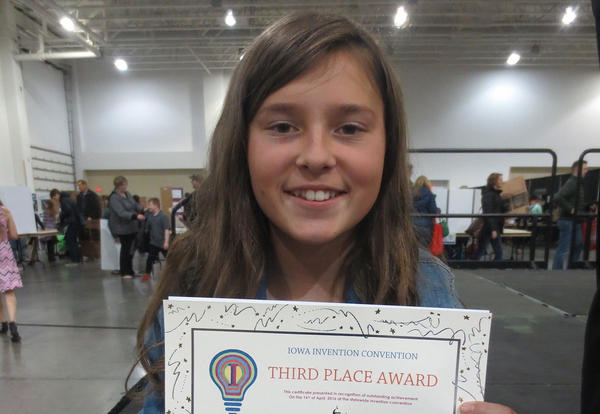 Snowball Maker Places Third in State Competition