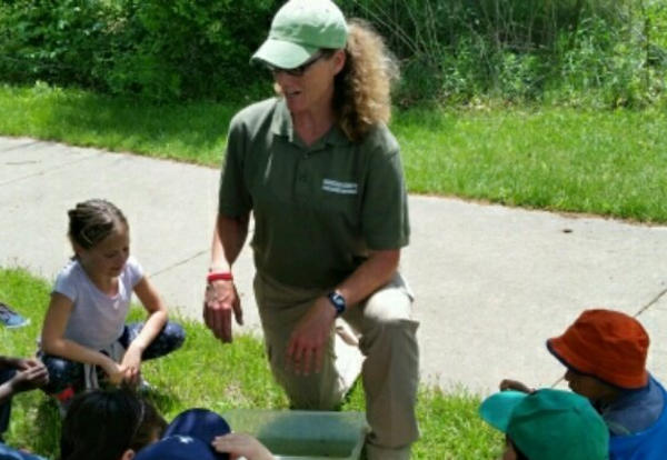 Two Schools Attend Outdoor Camp