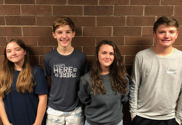 Four Students Selected for Honor Chorus