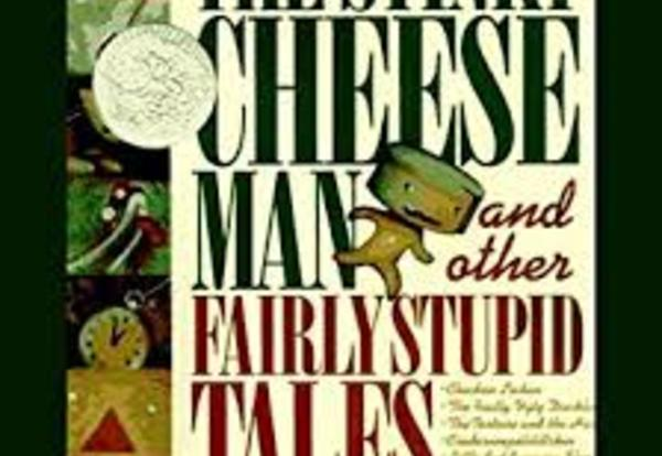 Stinky Cheese Man book cover