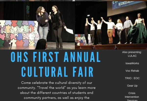 cultural fair poster