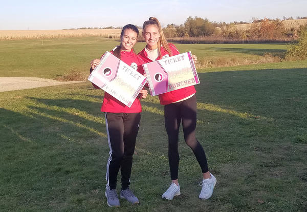 2 state cross country runners