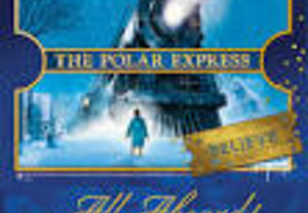 Polar Express Ticket and Train